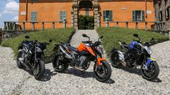 Sfida: Duke 790 vs Street Triple RS vs Brutale 800 - Immagine: 1