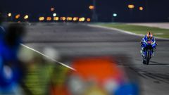 Test Losail MotoGP, Alex Rins (Suzuki)
