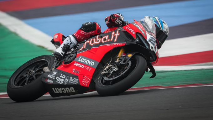 Test Misano SBK 2021, Michael Ruben Rinaldi (Ducati)
