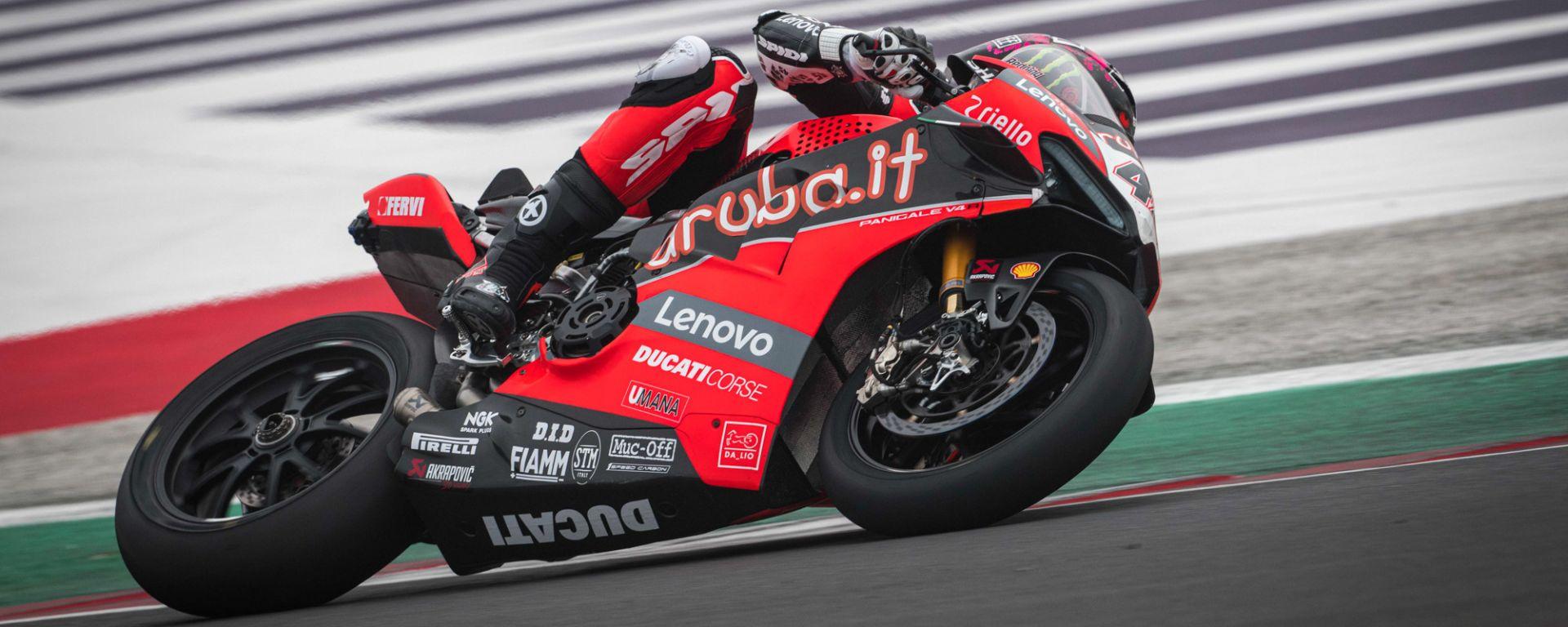 Test Misano SBK 2021, Scott Redding (Ducati)