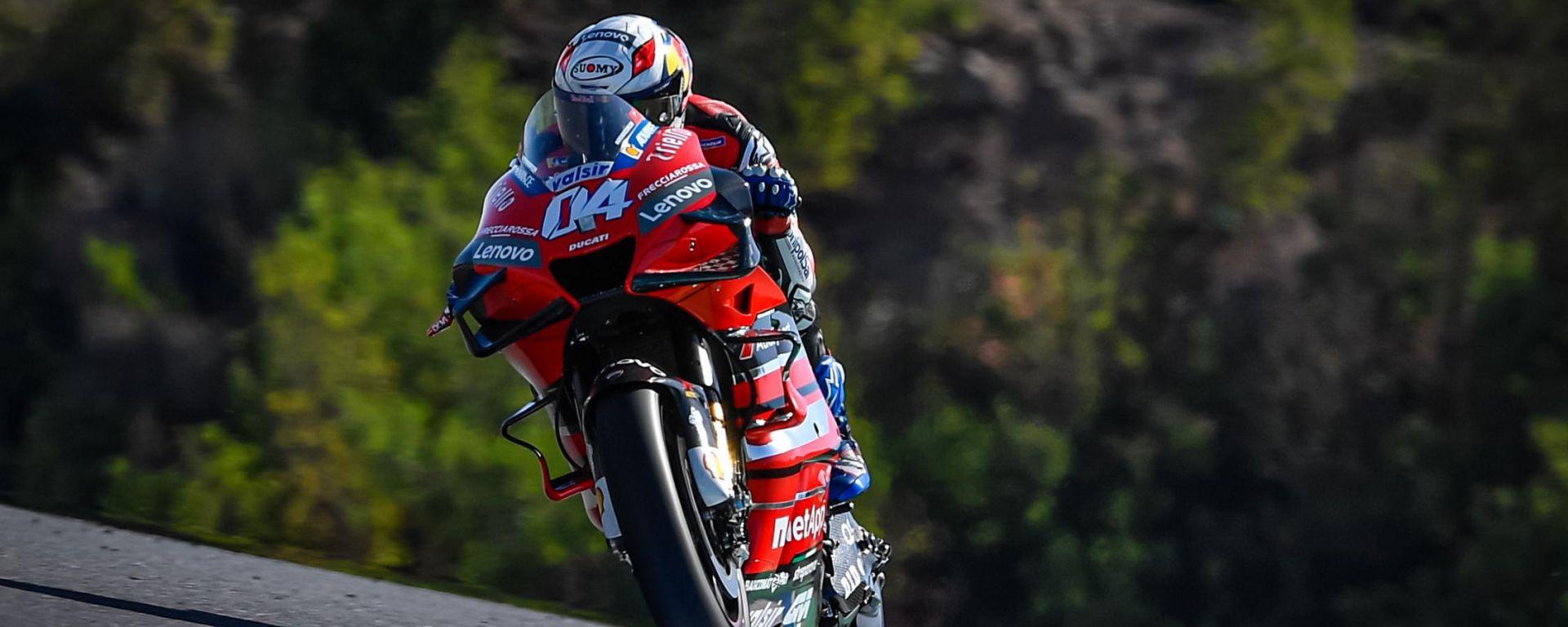 Test MotoGP Jerez 2020: Andrea Dovizioso (Ducati)