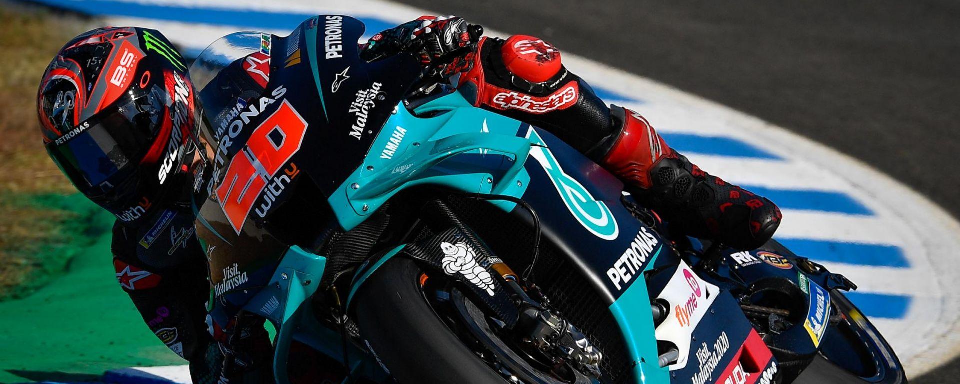 Test MotoGP Jerez 2020, Fabio Quartararo (Yamaha)