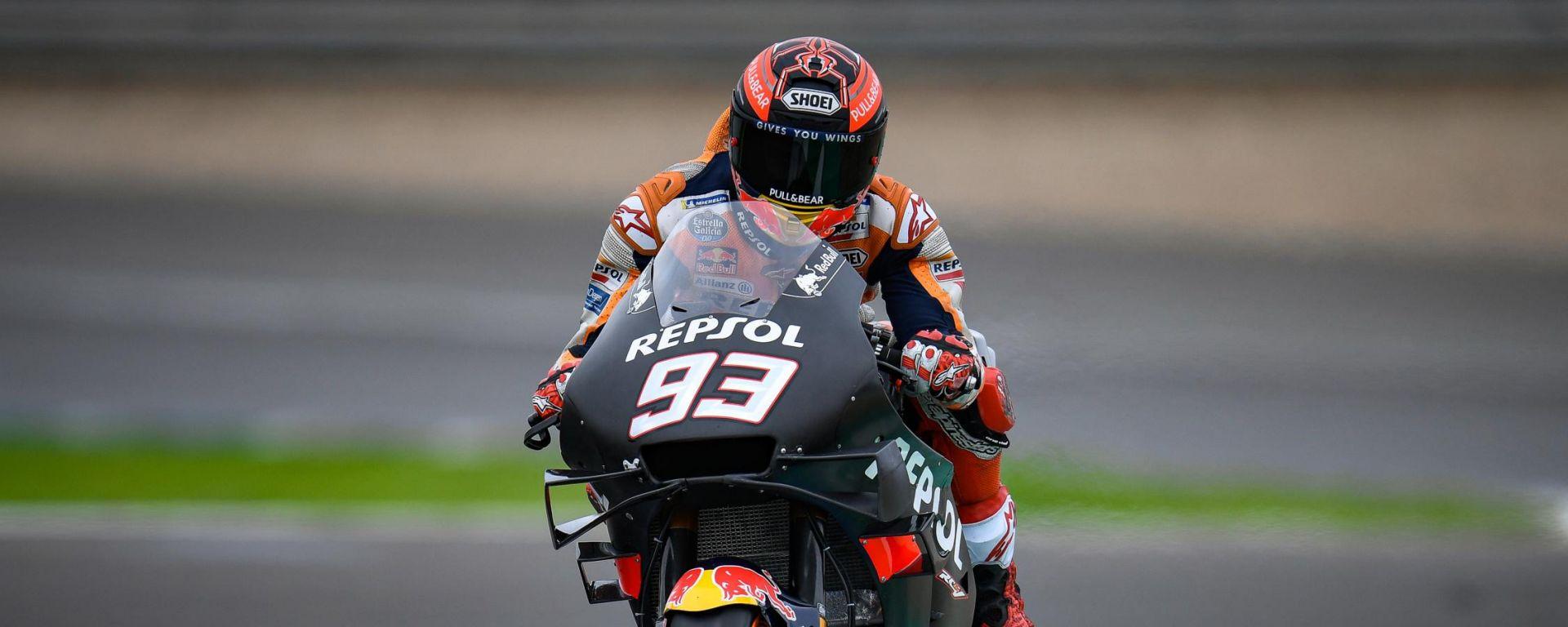 Test MotoGP Jerez, Marc Marquez (Honda)