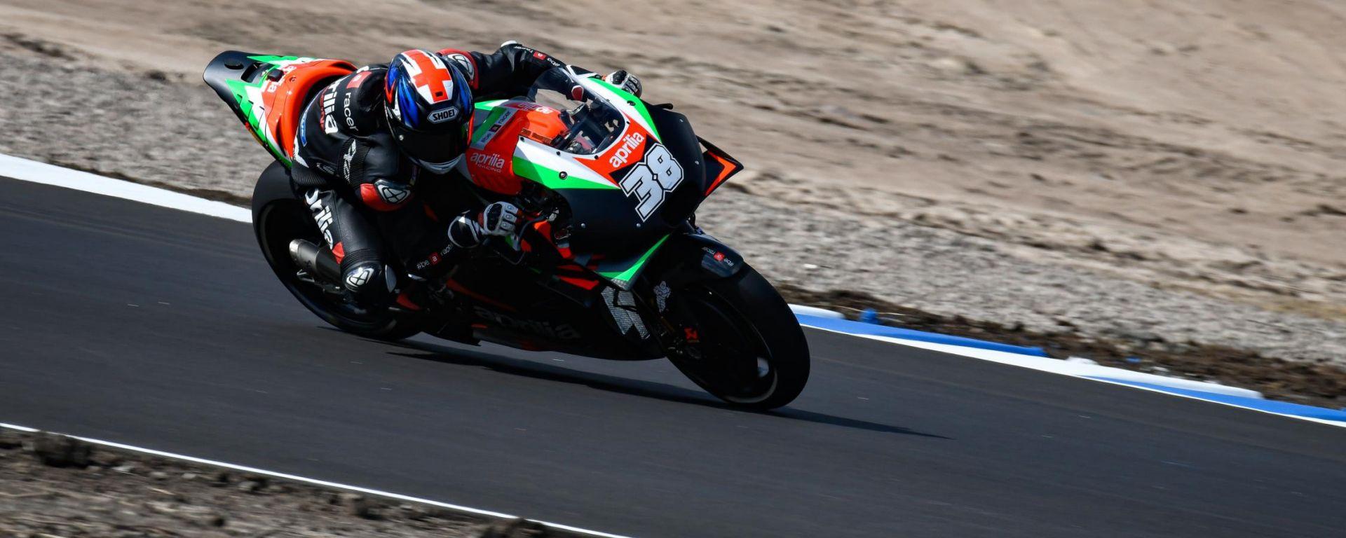 Test MotoGP KymiRing, Finlandia - Bradley Smith (Aprilia)