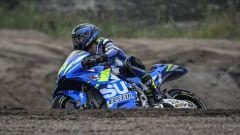 Test MotoGP KymiRing, Finlandia - Sylvain Guintoli (Suzuki)