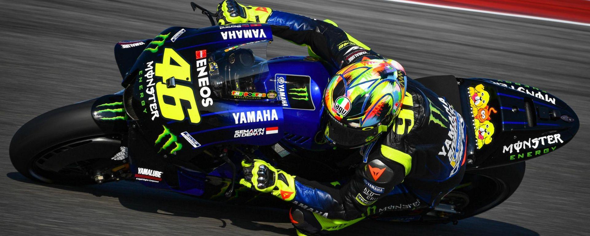 Test MotoGP Misano 2019, Valentino Rossi (Yamaha)