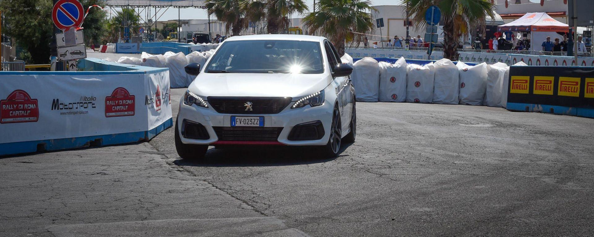 Test Peugeot 308 Gti con Andreucci - Rally di Roma Capitale