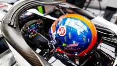 Test Pirelli Abu Dhabi 2018 - Il casco di Pietro Fittipaldi