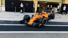Test Pirelli Abu Dhabi 2018 - Lando Norris in McLaren