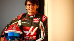 Test Pirelli Abu Dhabi 2018 - Pietro Fittipaldi in tuta Haas