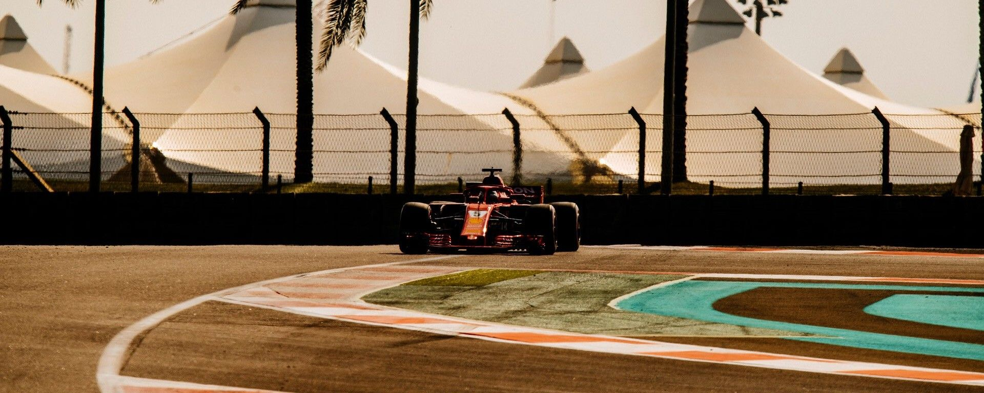 Test Pirelli Abu Dhabi 2018 - Sebastian Vettel (Ferrari)