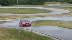 Test pneumatici usurati Michelin su pista Audi A3
