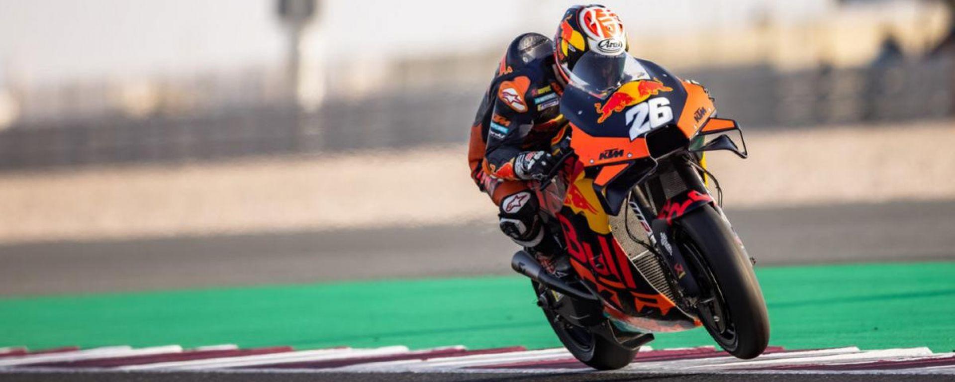 Test Qatar 2021, Losail: Dani Pedrosa (KTM)