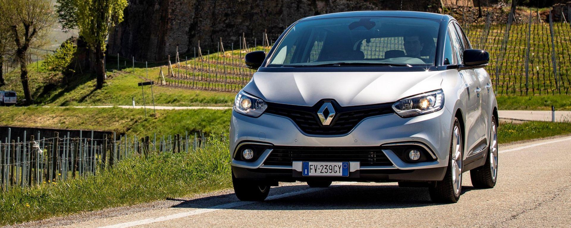 Renault Scenic 2019: la prova del nuovo motore 1.7 blue dCi
