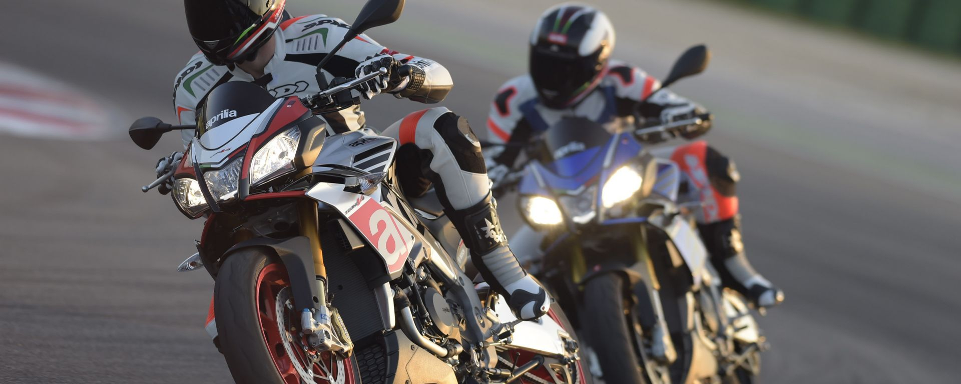 Aprilia Test Ride on Track
