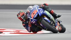 Test Sepang 2017, Maverick Vinales in azione
