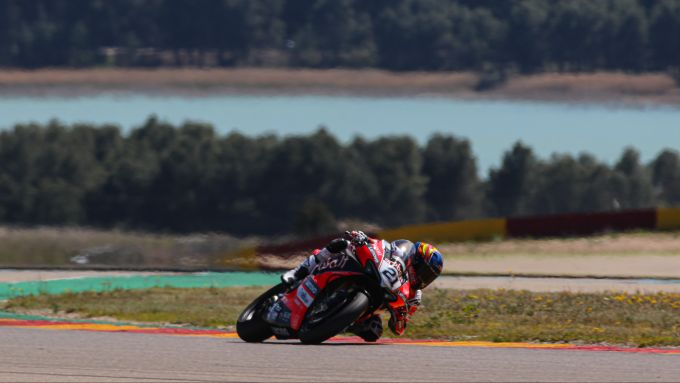 Test Superbike Aragon 2021, Michael Ruben Rinaldi (Ducati)