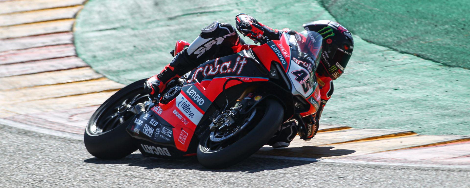 Test Superbike Aragon 2021, Scott Redding (Ducati)