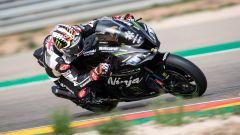 Test Superbike Aragon, Johnny Rea in sella alla Kawasaki