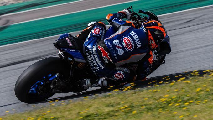 Test Superbike Barcellona 2021, Garrett Gerloff (Yamaha)