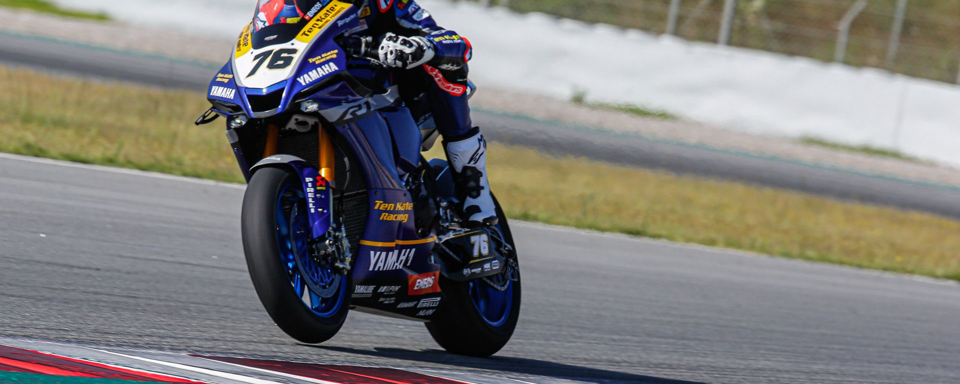 Test Superbike Barcellona, day 2: Loris Baz (Yamaha)