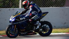 Test Superbike Barcellona, day1: Loris Baz (Yamaha)