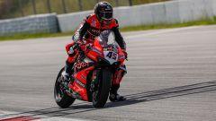 Test Superbike Barcellona, day1: Scott Redding (Ducati)