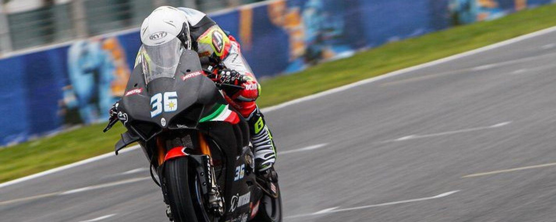 Test Superbike Jerez 2020, Leandro Mercado (Ducati)