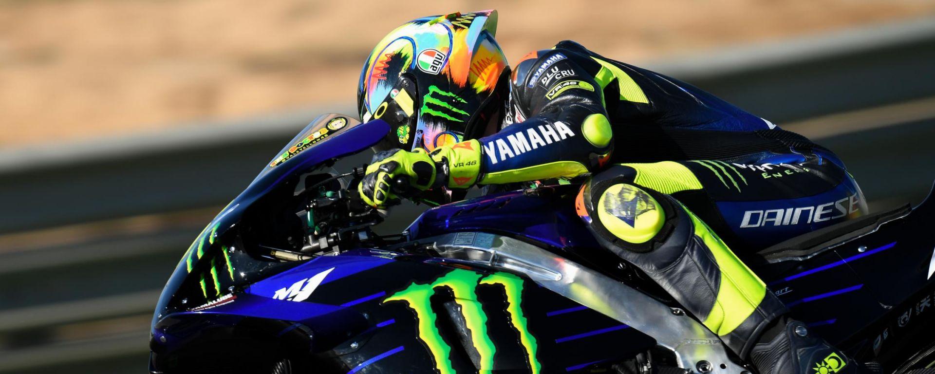 Test Valencia MotoGP 2019: Valentino Rossi (Yamaha)