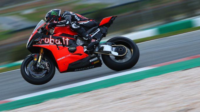 Test WorldSBK Superbike Portimao 2020, Scott Redding (Ducati)