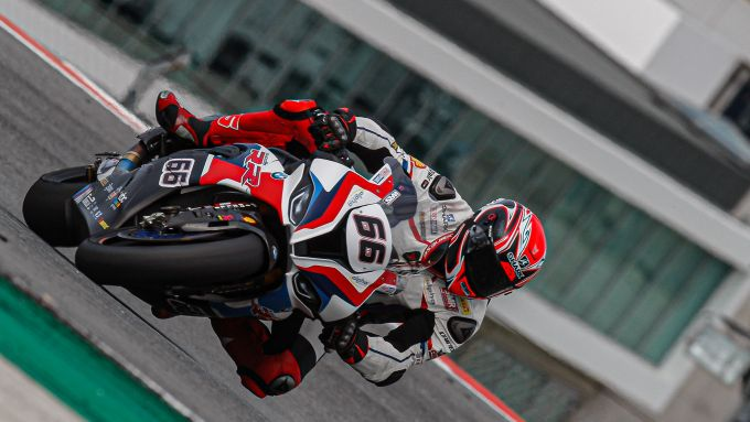 Test WorldSBK Superbike Portimao 2020, Tom Sykes (BMW)