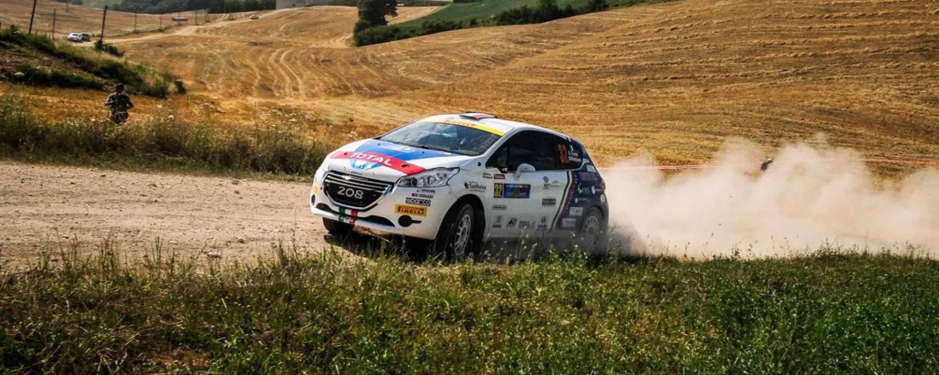 CIR 2016: 1° tappa del rally di San Marino. Domina Basso, Andreucci out