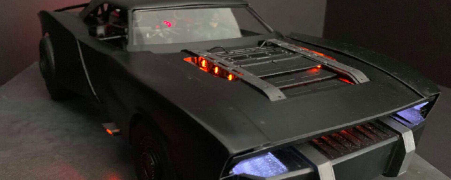 The Batman 2021: la Batmobile
