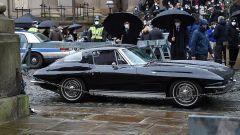 The Batman: la Corvette Stingray di Bruce Wayne sul set