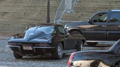 The Batman: la Corvette Stingray sul set
