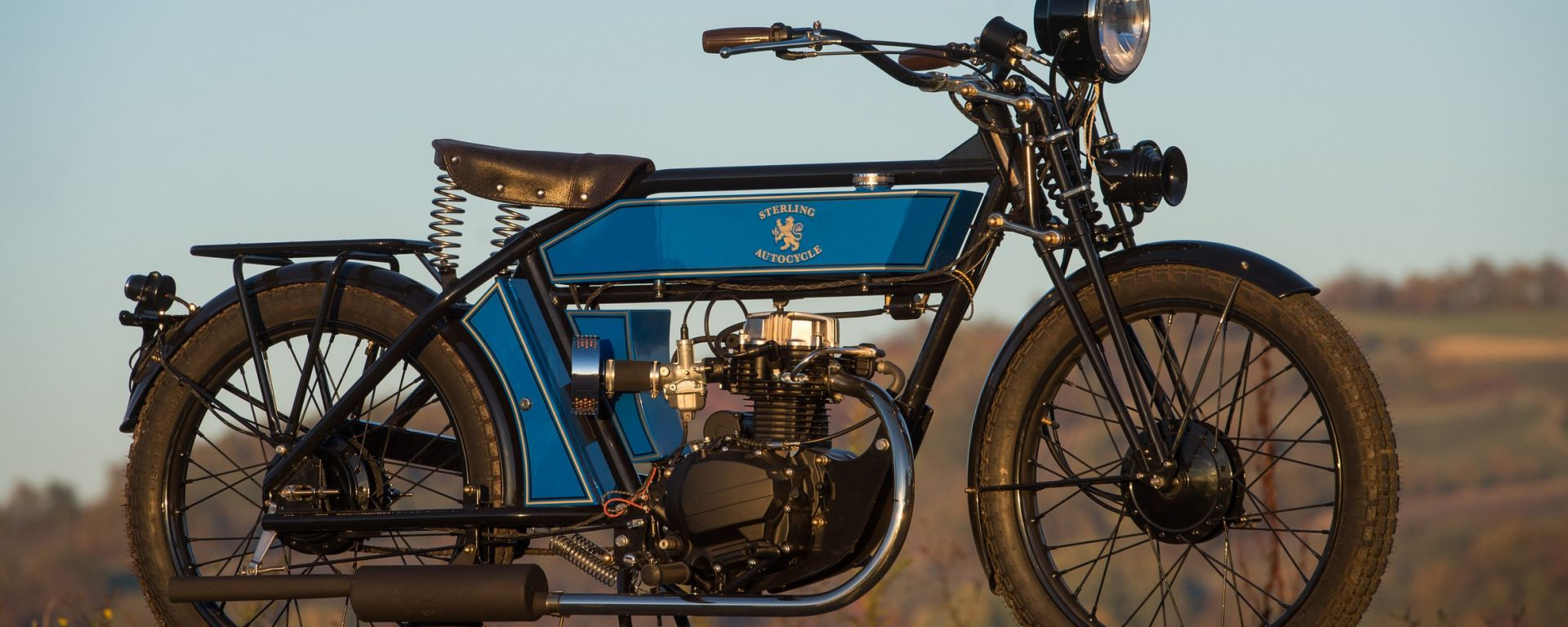 The Black Douglas Motorcycle Co. Sterling Countryman Deluxe