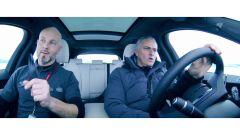 The Frozen One: Mourinho guida la Jaguar F-Pace su ghiaccio - Immagine: 7