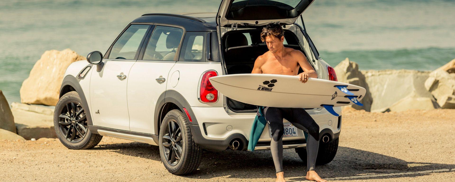 THE MINI: la tavola da surf firmata Mini