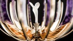 The Spirit of Ecstasy Faberge Egg: dettaglio della sorpesa
