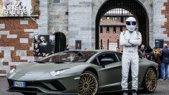 The Stig e la Lamborghini da oltre 700 CV