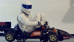 The Stig in a crazy F1 car