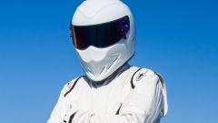 The Stig: la seconda versione in bianco, dietro si celava il pilota inglese Ben Collins