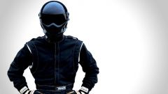 The Stig: l'originale con casco e tuta neri