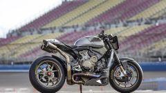 The Super è una Ducati 1199 Superleggera privata delle carene e ulteriormente alleggerita