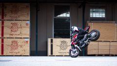 MV Agusta F3 800 e Brutale 800 preparate per lo stunt riding