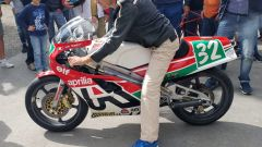 Thundervolt NK-E: Loris Reggiani e la sua moto al MBE 2019 - Immagine: 2