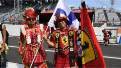 Tifosi Ferrari al Suzuka Circuit