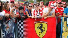 Tifosi Ferrari - GP Italia