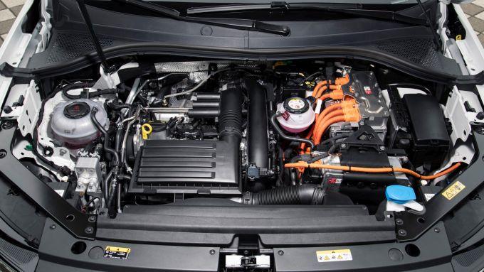 Tiguan eHybrid 2021: il motore