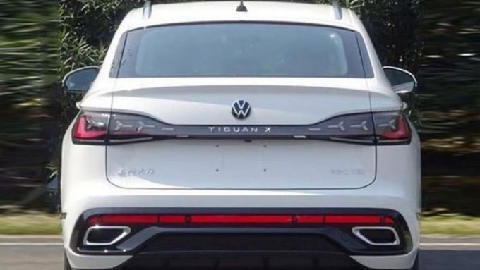 Tiguan SUV coupé, il posteriore